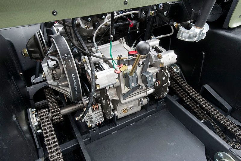 Двигатель вездехода