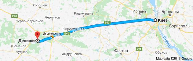 Киев- Дениши