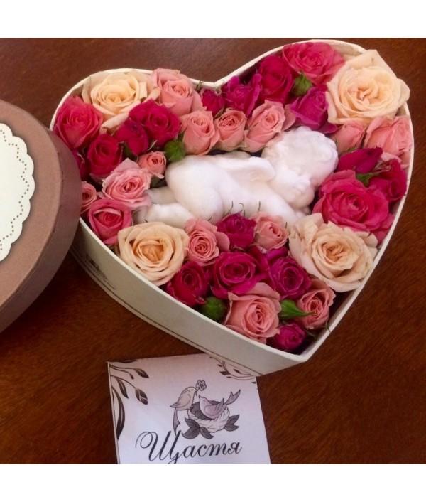 Купить букет цветов в магазине Happyflower