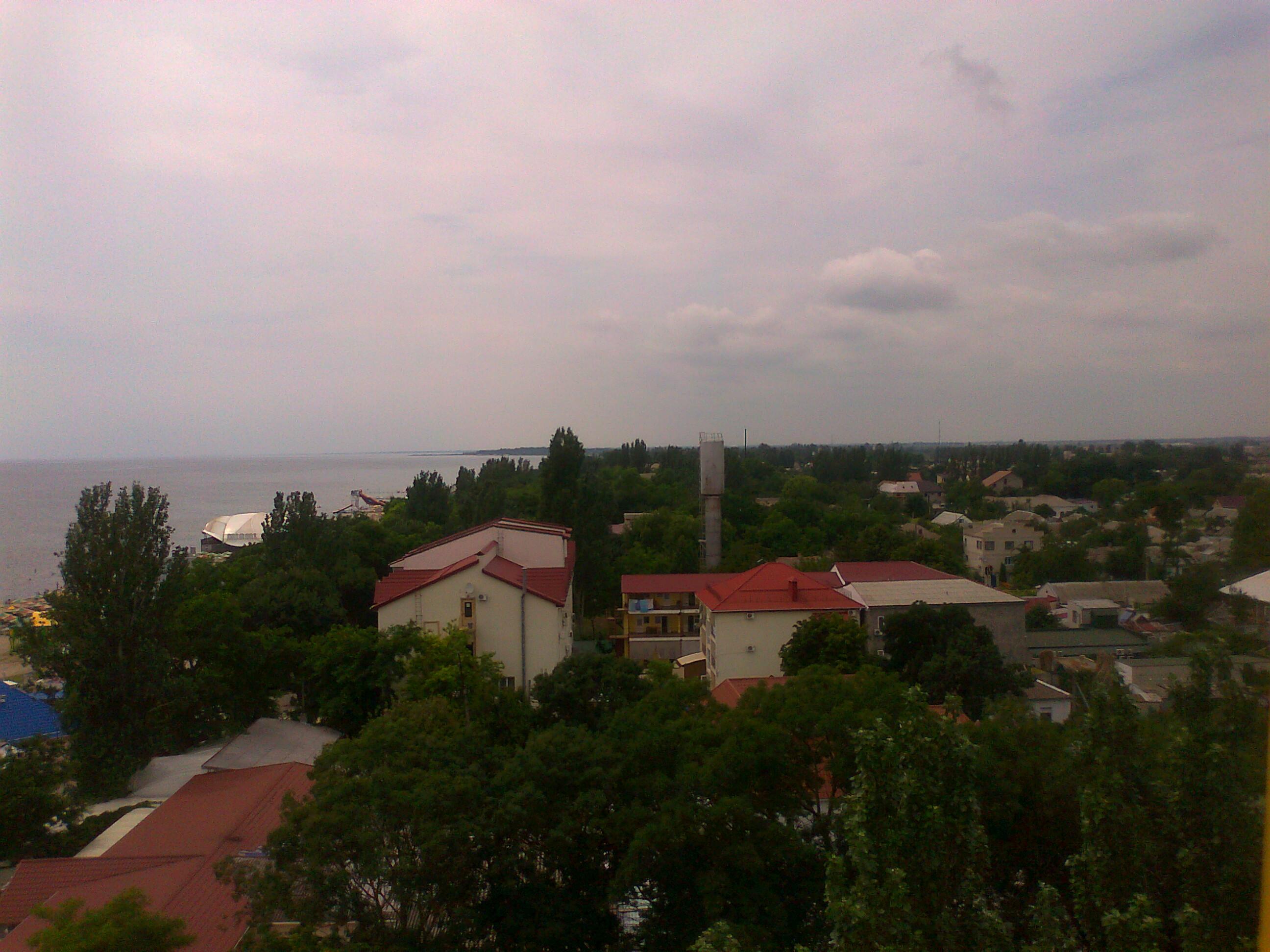 Черное море. Украина, Скадовск.