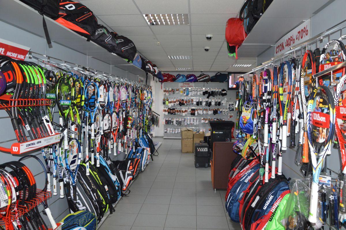 Купить теннисную ракетку