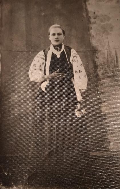Этничная украинка