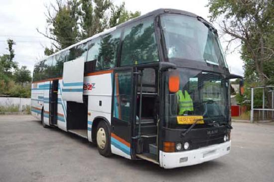 Пассажироперевозки автобус мерседес