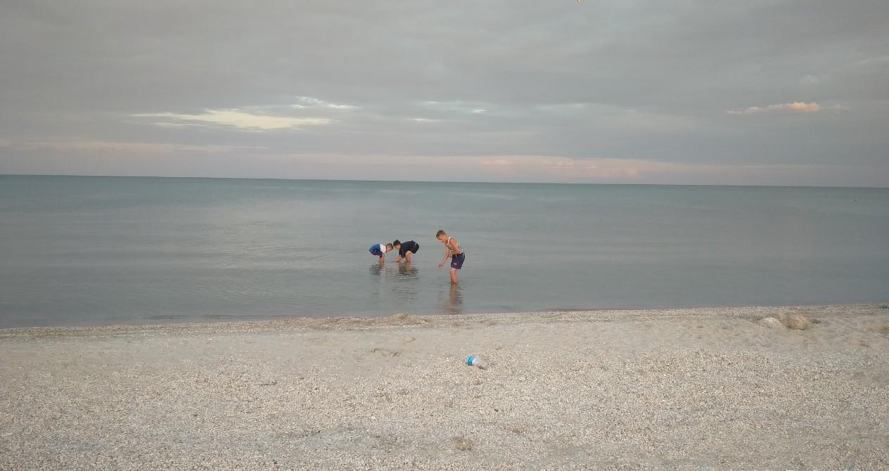 Азовское море. Кирилловка.
