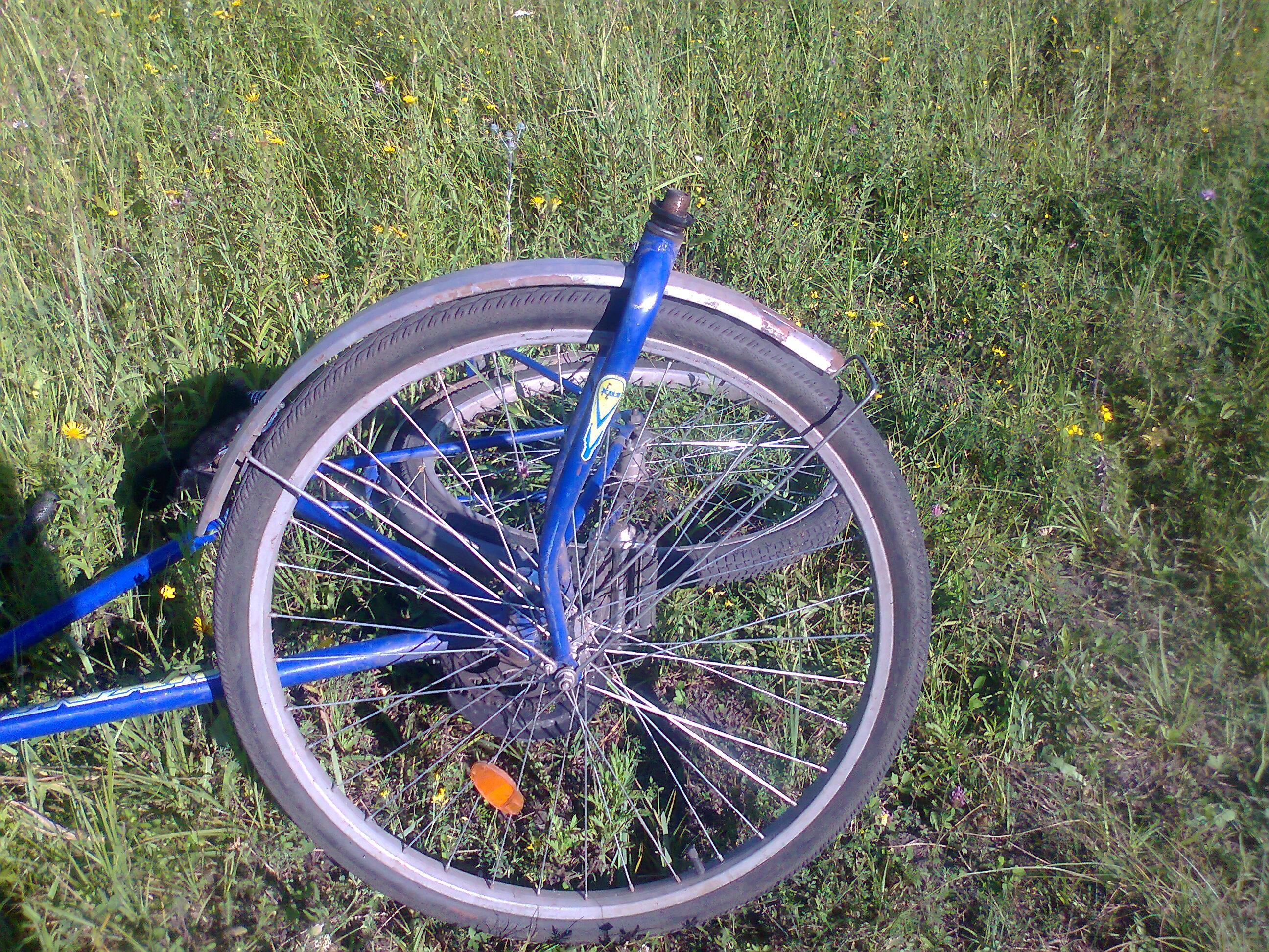 Велосипед Украина поломка вилки