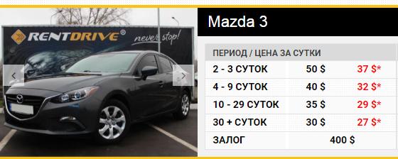 Автопрокат Украина
