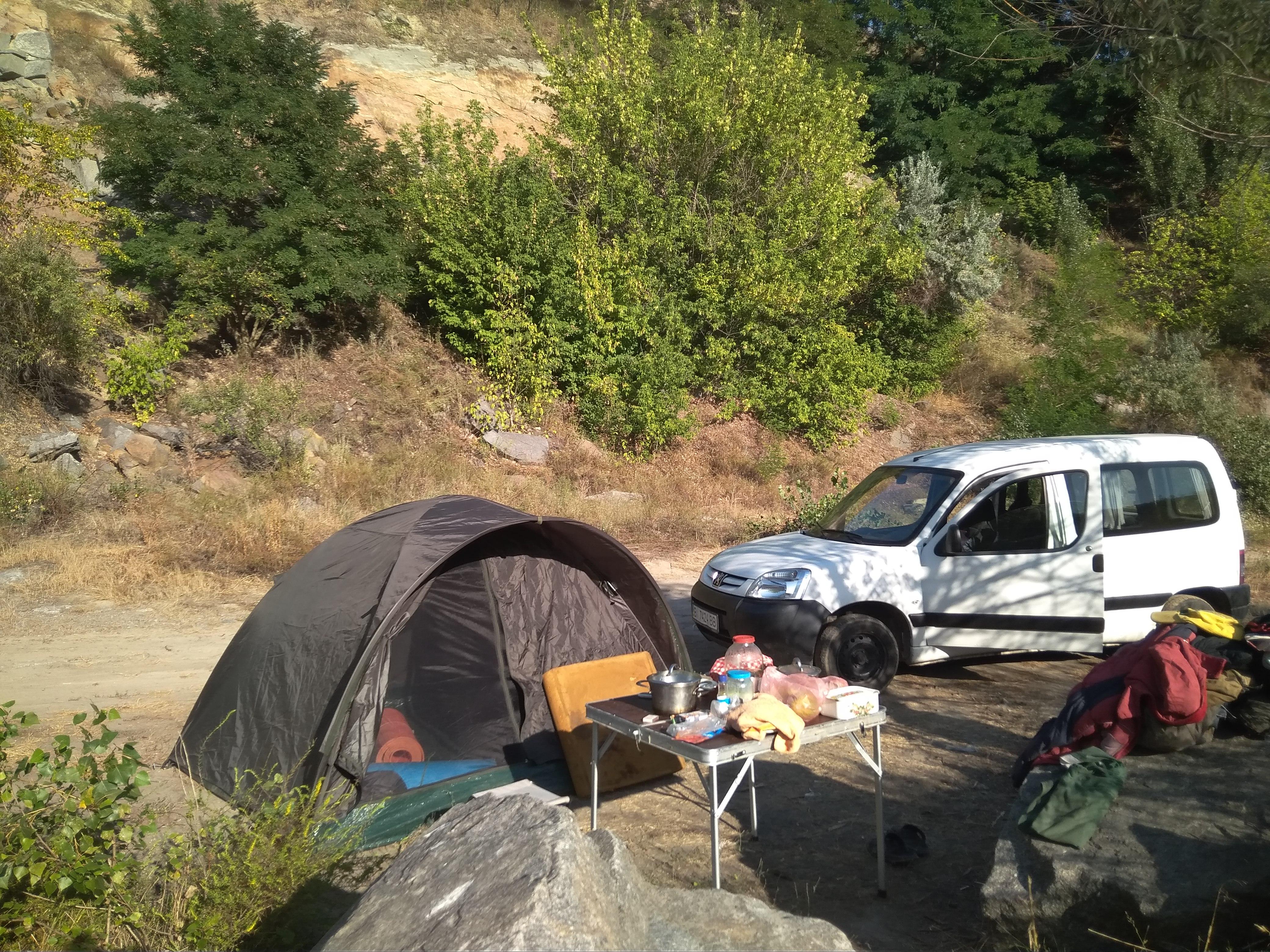 Палатка горная
