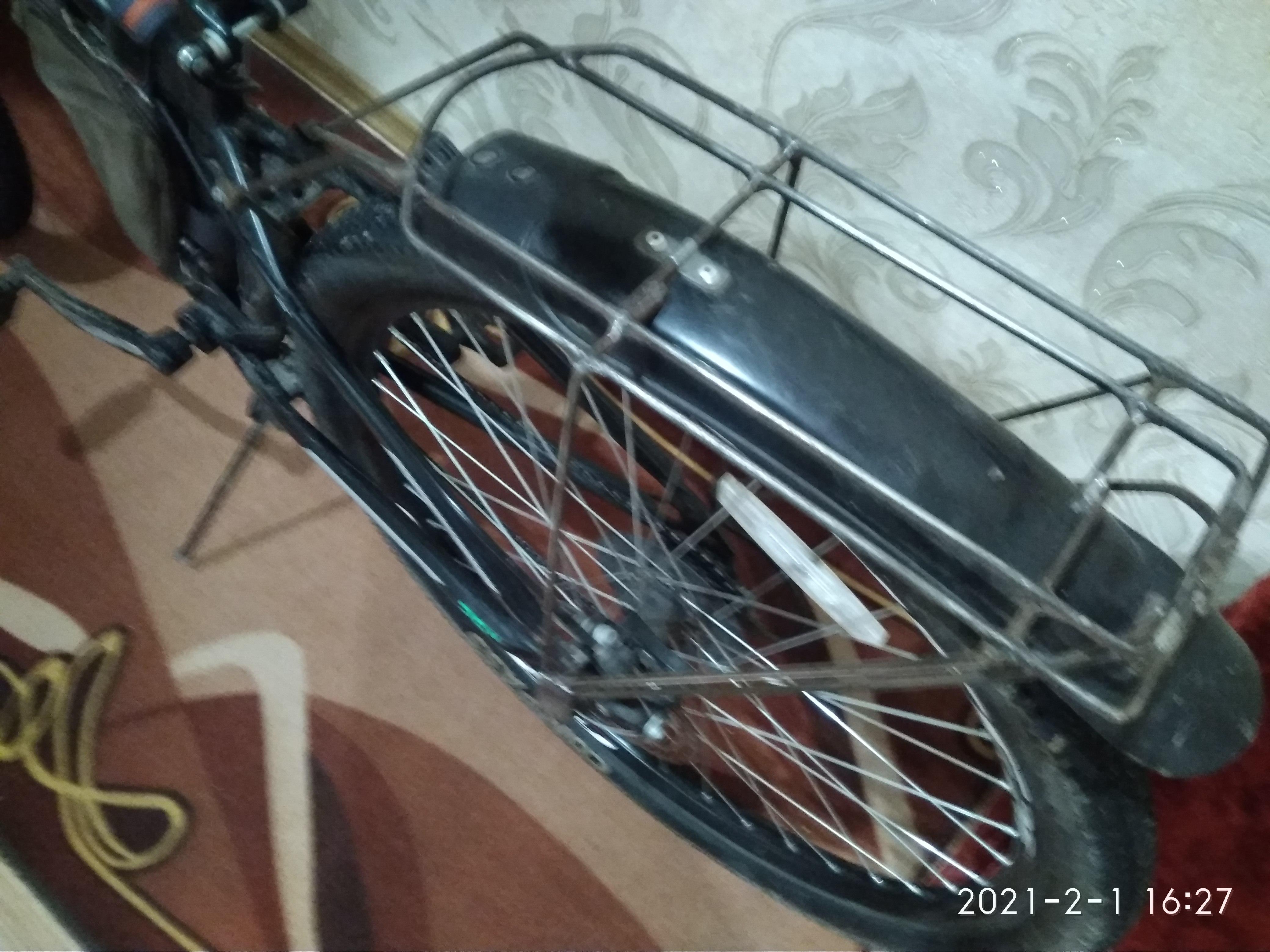 Багажник на горный велосипед