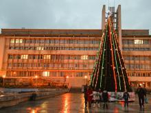 Главная елка Алушты