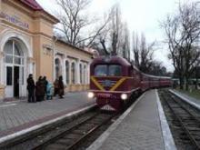 Днепропетровская детская железная дорога готовится к встрече Нового  2013 года