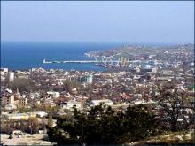 Прекрасный, богом данный людям, морской город Крыма.