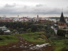 Вид на город со Старой крепости