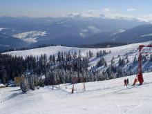 На фото: горнолыжный курорт Драгобат