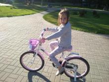 Велосипед и дорога