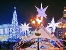 Киев. На Крещатике построят Рождественское село.