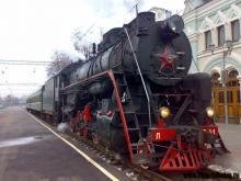 На мартовские праздники по Киеву будет курсировать ретро-поезд