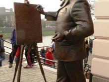 В Ужгороде открыли памятник художнику Игнатию Рошковичу