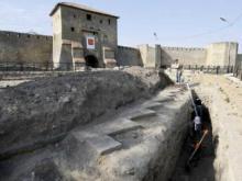 Средневековый колодец в Аккерманской крепости
